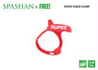 公式ステッカー付き RUPES ケーブルクランプ BigFoot 洗車 カーケア ビッグフット ポリッシャー SPASHAN