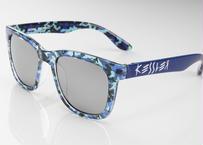 KESSLER EYEWEAR サングラス No.11 CAMO BLUE UV・偏光レンズ ケスラー SPASHAN スパシャン
