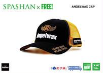 公式ステッカー付 ANGELWAX CAP キャップ 帽子 SPASHAN