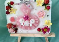 送料無料 魅惑のピンクドレス