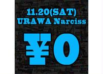 11月20日(土)浦和Narciss_無料チケット