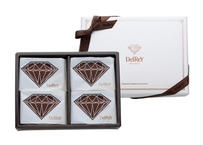 【2月受け取り】ダイヤモンド フォンダンショコラ4個入