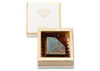 ダイヤモンドショコラ1個入BOX (ブルーダイヤモンドダーク)