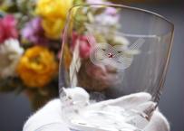 あわじ結びの名入れグラス