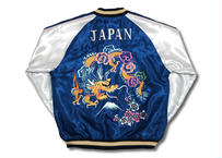 "TAILOR TOYO テーラー東洋 ACETATE SOUVENIR JACKET""DRAGON"" × ""BLACK EAGLE"""