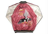 "TAILOR TOYO テーラー東洋 ACETATE SOUVENIR JACKET ""JAPAN MAP & BLACK EAGLE"""