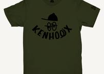 KENHOLIX WHT Label Logo Tee -Khaki-