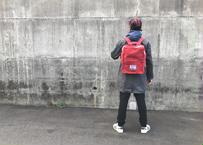 【肩凝りさん撫で肩さんにオススメ】ブリクストン リュックサック -コメットレッド-