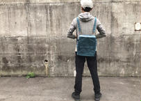 【ご要望にお応えしてA4サイズ!】ノウユアライツバッグ  TYPE2 -スモーキーブルー-