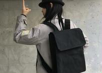 【スーツスタイルにも合う!】ジャブスコ リュックサック M -ブラック-