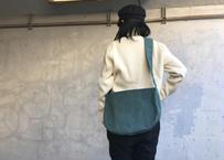 【抜群に合わせやすい!】アナザープラネットバッグ S -ブルー/カラシイエロー-