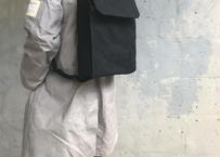 【薄型リュック!】ジャブスコリュックサック S -ブラック-
