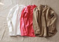 maillot / mature cotton satin stand shirts