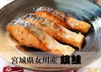 """【宮城県女川産銀鮭】銀鮭の王様""""銀王""""は「とろ・ふわ」な世界を提案します"""