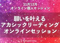 【11月12月オンラインセッション 60分】2021年未来展望アカシックリーディング個人セッション