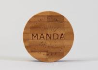 40g】MANDA オーガニック 日焼け止めペースト(SPF 50)/Organic Sun Paste(SPF 50)