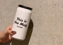 This is the Mug WHITE / Thermo & GO OUT サーモマグ 白