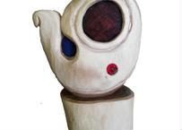 木彫り まが玉