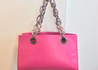 mini handbag x shoulderbag with Italian beads