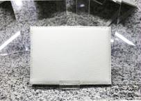 【再販×5】シンプル名刺入れ(国産牛革使用 ホワイト)With-Rabbit◆ウィズラビット