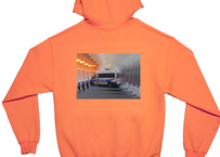 LOYALS ONLY ( ロイヤルズ オンリー )  ACAB HOODIE safety orange フード パーカー