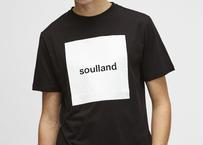 SOULLAND (ソウルランド) LOGIC MANSON T-SHIRT W.PRINT - BLACK