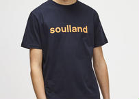 SOULLAND (ソウルランド) LOGIC CHUCK T-SHIRT W.PRINT - NAVY