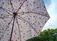 フルーツ柄の手作り日傘
