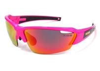 K.O.S  SportLightClearStripe PINK / RED 偏光レンズ