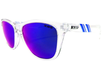K.O.S  ScrewLooseStripe Clear Crystal     BLUE