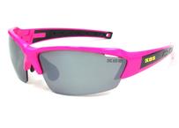K.O.S  SportLightClearStripe PINK / Silver 偏光レンズ