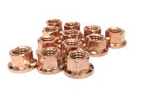 ホイールハブナット M8 銅ナット6個セット