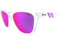 K.O.S  ScrewLooseStripe Clear Crystal     PURPLE