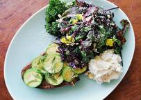 パンと野菜の朝食セット vol.4