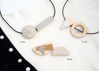 hinoki necklace kit(レザー付き) |ヒノキネックレスキット|