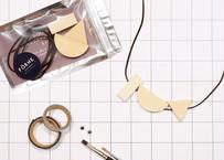 hinoki necklace kit【Aset】