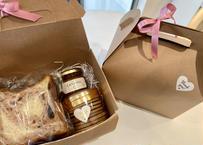 【ホワイトデーに!】いちご食パン、サブレ、お好きなキャラメルのセット