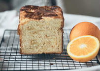 【新作!】夏に食べたい しっとりデニッシュ食パン:プレミアムオレンジ〜デニッシュ仕立て〜