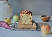 【嬉しいハーフサイズ!】秋のプレミアム食パン「蜜芋&蜜りんご」種子島産安納芋の贅沢な味わい