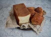 【大人気!】発酵バターを味わう贅沢セット:最高峰食パン「ふじ森」1本、クロワッサン、パンオショコラ各3個の詰め合わせ♪ギフトにも!