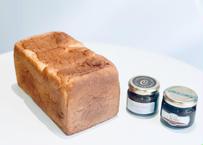 【敬老の日に!】食パン「ふじ森」とキャラメルバターのお得なギフトセット【9/17までのご注文で9/20のお届けできます】