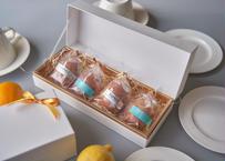 【クール便送料込み】冷やしておいしい夏ギフトの大本命!レモンケーキギフトセット〜レモンケーキ4個+ティーバッグ4袋〜
