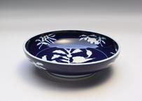 草花折枝白抜紋  盛鉢(アウトレット品)