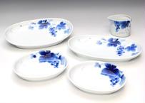 ブルーワイナリー  楕円盛皿特別セット(アウトレット品)