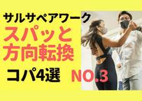 サルサベアワーク スパッと方向転換コパ4選No.3