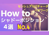 センシュアルバチャータペアワーク「HOW TO シャドーポジション」4選No.4