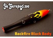 【WebShop限定】Ya Garapop 200mm Backfire Black Body