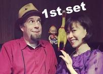 「Alan Patton (vo,acco) & Tomoko Yokoyama (sax) 」2021.06.19 配信よりピックアップ