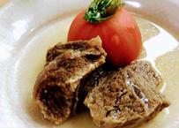 和牛ほほ肉トマト