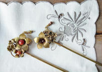 真鍮製の簪  作家:金魚工房